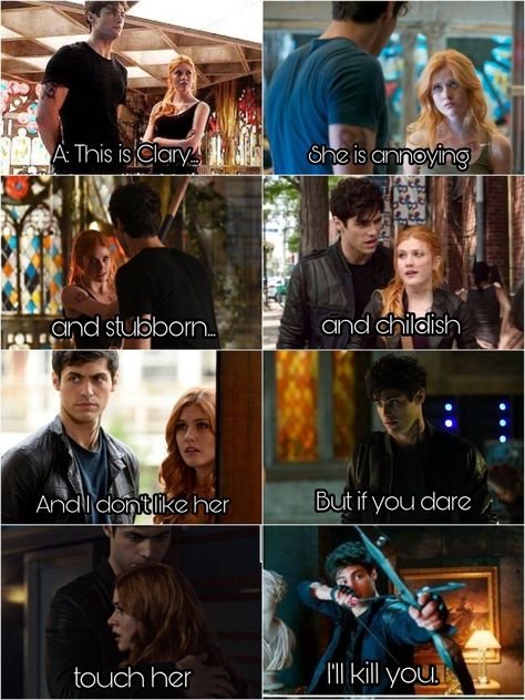 Alec does secretly care about her... Or is it just that anything happened to her Jace would die?