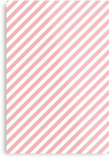 Pink White Diagonal Stripes Metal Print By Newburyboutique Striped Artwork Diagonal Stripes Pink And White Stripes