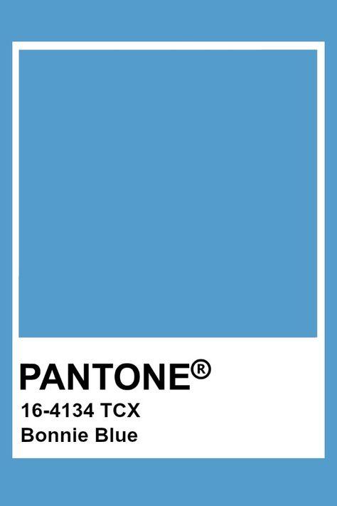 Pantone Bonnie Blue