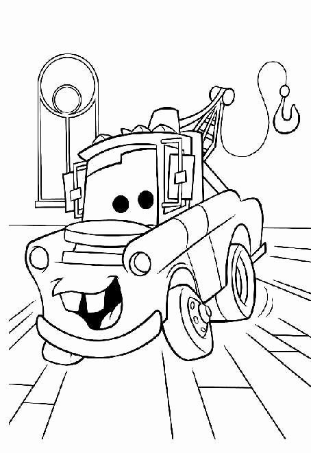 Disney Cars Mater Coloring Pages Coloring Page Gallery In 2020 Cars Coloring Pages Truck Coloring Pages Race Car Coloring Pages