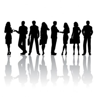 Download Silhouettes Of People Talking For Free Silhouette People Silhouette Man And Woman Silhouette