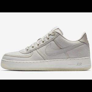 Nike Air Force 1 Low Retro QS Canvas Mens Shoes #shoes