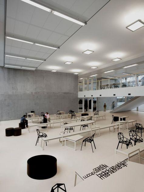 School 03 Moderne Scholen Van I29 Interior Architects Modern Interior Design Colleges Interior Modern Interior Design