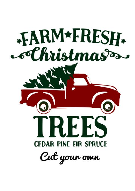 Farm Fresh Red Truck and Tree Digital SVG file Source by savvysassymoms Blue Christmas Decor, Merry Christmas, Fresh Christmas Trees, Christmas Truck, Christmas Tree Farm, Diy Christmas Ornaments, Christmas Projects, Christmas Decorations, Christmas Ideas