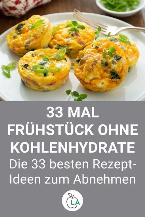 Low Carb Frühstück: 33 schnelle, gesunde und leckere Rezepte