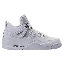 reputable site 48428 c3cbd Men s Air Jordan Retro 4 Basketball Shoes   Finish Line