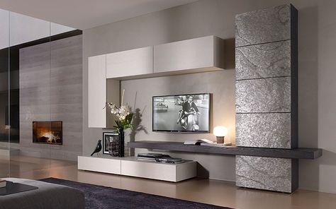 Su Outlet del Mobile arredamento living moderno e innovativo: parete ...
