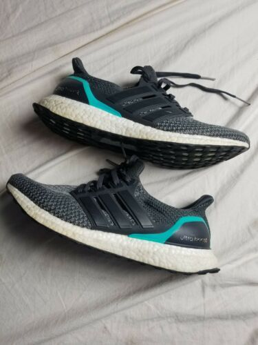 adidas Men's Ultraboost Running Shoe Black Size 9.5 M US