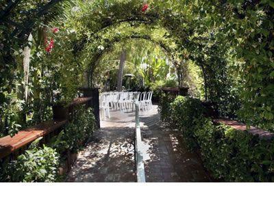 Rancho De Las Palmas Moorpark Ventura County Wedding Venue Garden