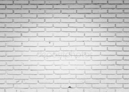 13 Pared de ladrillo blanco