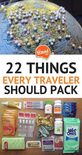 Travel Essentials: 22 Things Every Traveler Should Pack