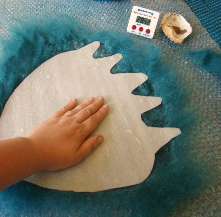 These 30 minute felt projects are an opportunity to come to the creative table with no expectations- just a short intensive, mind-wi.