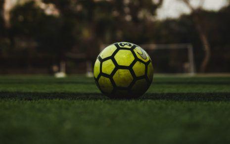 Yellow Football Hd Wallpaper Football Wallpaper Football Ball Football