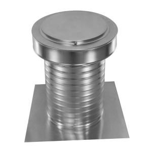 Active Ventilation 9 In Dia Keepa Vent An Aluminum Roof Vent For Flat Roofs Kv 9 The Home Depot Roof Vents Aluminum Roof Flat Roof