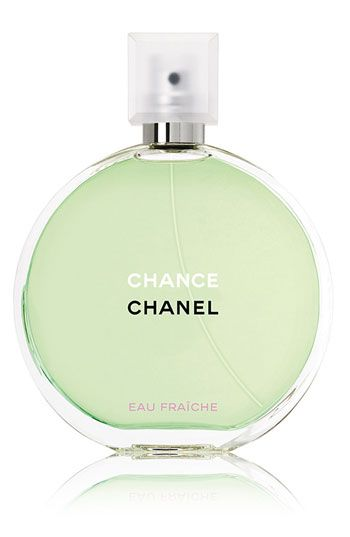 Chanel Chance Eau Fraiche. A classic on my vanity. This is Chanel's signature Chance with a fresh twist. You will not go unnoticed wearing this. $90 for 3.4oz