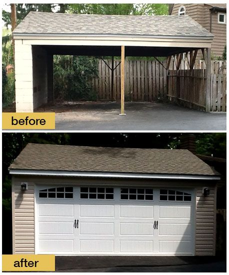 Converting to curb appeal - Replacing the carport with a fully enclosed garage significantly improved this home\u0027s appearance not to mention the se\u2026 & Converting to curb appeal - Replacing the carport with a fully ... Pezcame.Com