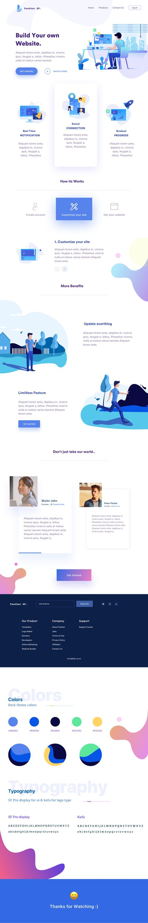 feather website