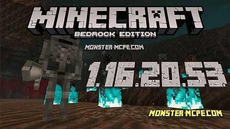 Minecraft Pe 1 16 20 53 For Android Minecraft Pe Minecraft Game Mechanics
