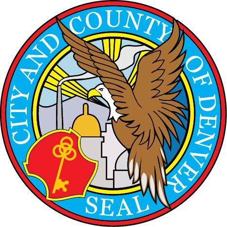 Carved Plaque Of The Seal Of The City County Of Denver Colorado Denver City City Text Art
