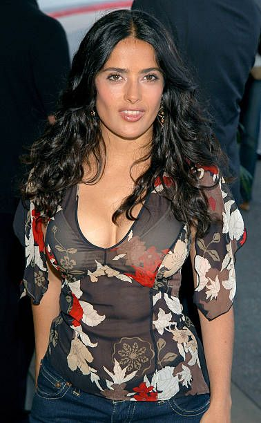 Salma Hayek during TCA July 2003 Cable Press Tour Arrivals Day 2 at Renaissance Hollywood Hotel in Hollywood California United States