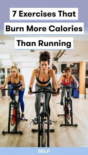 7 Exercises That Burn More Calories Than Running Cycling Workout