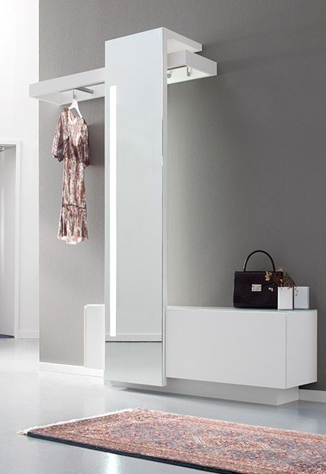 Sudbrock Nexus Wardrobe Furniture With Tall Mirror Wardrobe
