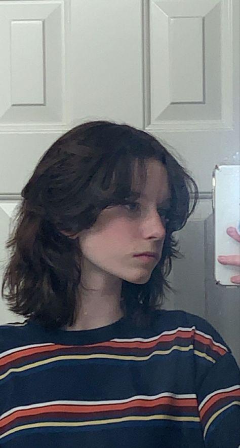 long mullet shag haircut