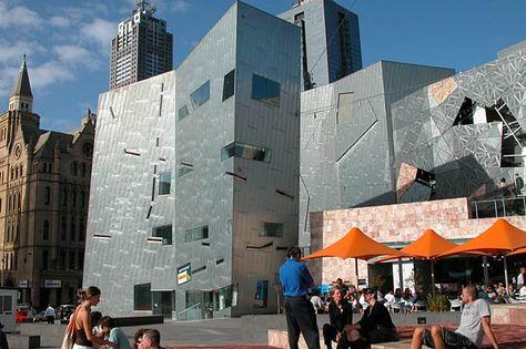Melbourne city square