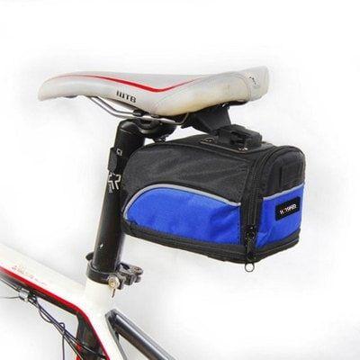 Hotspeed Bicycle Tail Pack Cobalt Blue Bike Bags Sale Price