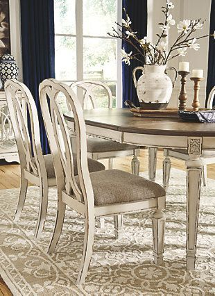 Realyn Dining Room Chair Ashley Furniture Homestore In 2020