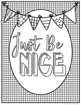 Kindness Coloring Pages Quote Coloring Pages Printable Adult