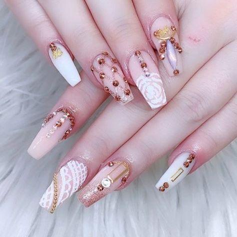 Pink Acrylic Nail
