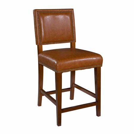 Admirable Linon Brook Counter Stool 24 Inch Seat Height Multiple Machost Co Dining Chair Design Ideas Machostcouk