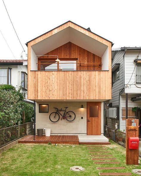 짜투리 땅에 지은 목조 틈새주택 마당도 있다 집 진짜 이뻐 Self Diy 미래의 집은 너로 정했다 집 디자인 작은 집 건축