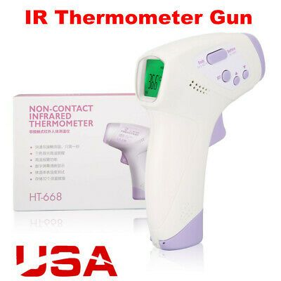 Sponsored Ebay Hospital Medical Grade Noncontact Digital Temporal Forehead Infrared Thermomete In 2020 Forehead Thermometer Infrared Thermometer Digital Thermometer