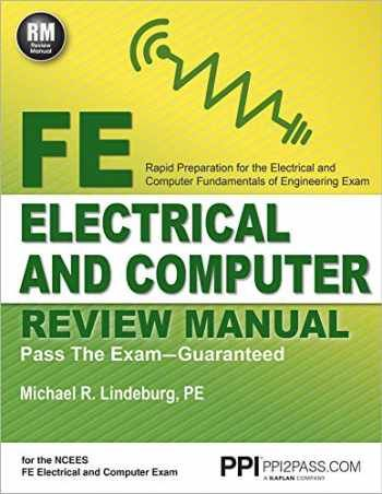 Testbank For Fe Electrical And Computer Review Manual 1st Edition By Michael R Lindeburg Computer Reviews Computer Exam Free Reading