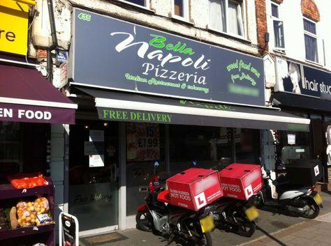 Bella Napoli Pizzeria Bromley Cheap Pizza Delivery Bromley