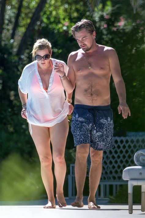 Leonardo DiCaprio and Kate Winslet's Pool Date