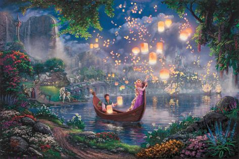 Tangled - Limited Edition Canvas (SN - Standard Numbered) - SN - Standard Numbered / 28 x 42 / Unframed