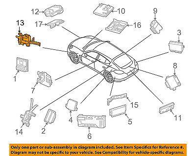 Sponsored Ebay Porsche Oem 10 16 Panamera 4 8l V8 Control Units