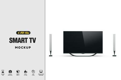 Smart Tv 46 Psd Mockup Template Psd Mockup Template Design Mockup Free Psd Template Free