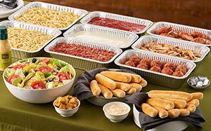 Cater Your Next Meal With Your Own Italian Pasta Station From