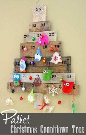 Calendario Fai Da Te Con Foto.Natale 10 Calendari Dell Avvento Fai Da Te Natale