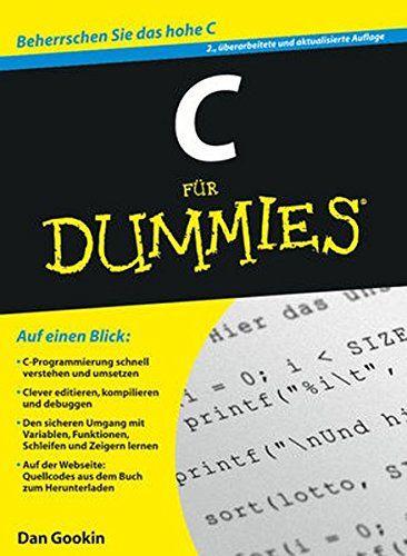 C F R Dummies Dummies C Programmieren Lernen Programmieren Lernen C Lernen
