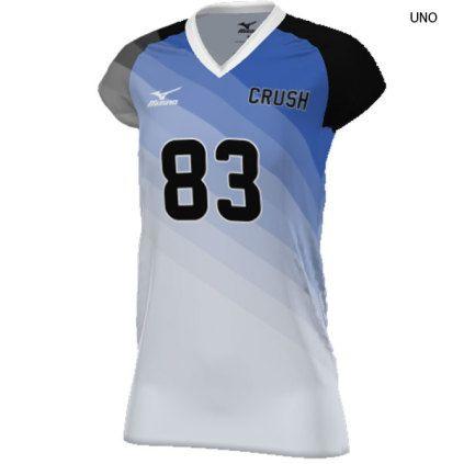 mizuno volleyball jersey custom fit