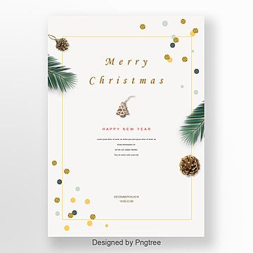 淺白色 Christmas Poster Design Christmas Poster Christmas Card Design