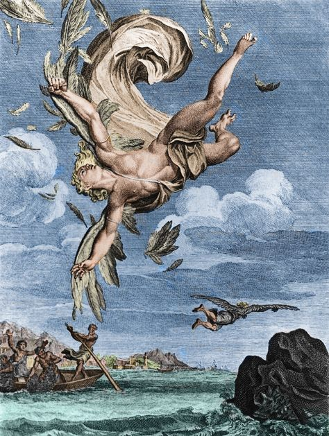 Newsela | Myths and Legends: Icarus flies too close to the sun