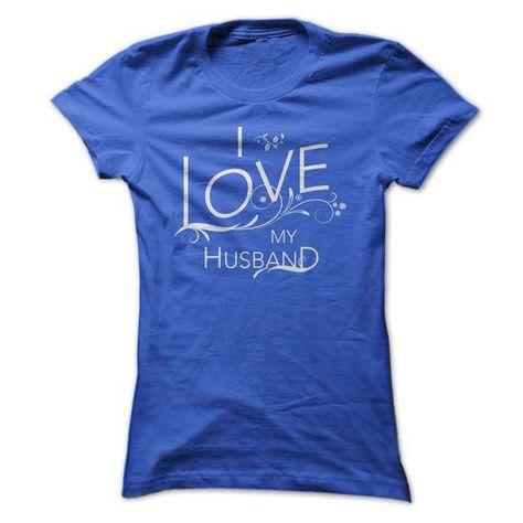 I Love My Husband Handrawn Ornate Shirts