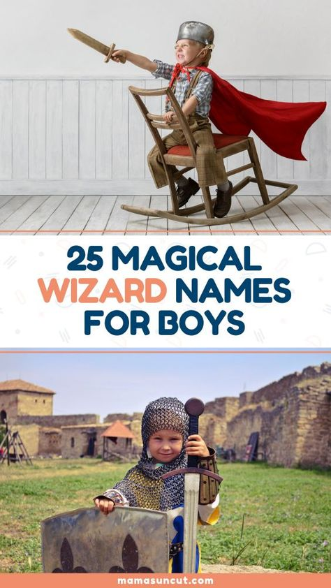 Are you looking for names with added magic? Check out these wizard names for boys!