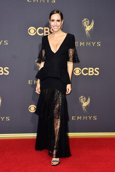 Louise Roe - The Most Daring Dresses at the 2017 Emmy Awards - Photos